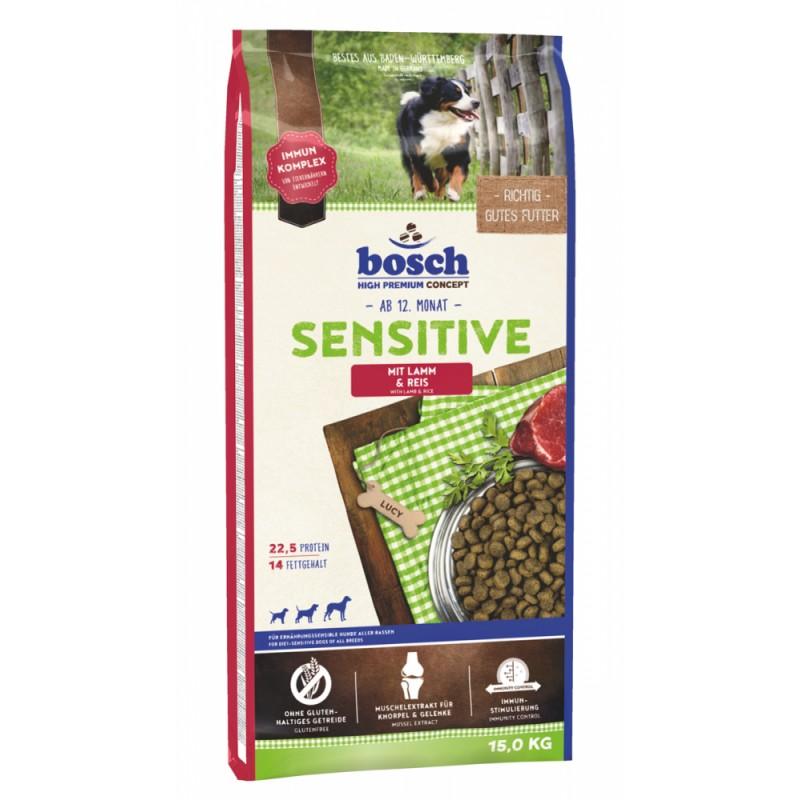 Bosch Sensitive с ягнёнком и рисом, 3кг