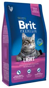Brit Premium Cat Adult Light, 1,5 кг