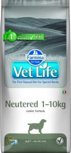 Farmina Vet Life Dog Neutered (1кг-10кг) 2 кг.