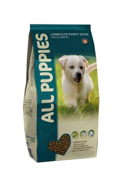 Корм ALL  PUPPIES для  щенка 2.2 кг
