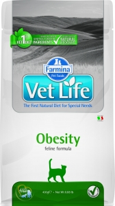 Farmina Vet Life Cat Obesity 2 кг