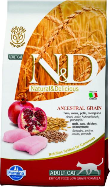 N&D Low Grain Cat Chicken & Pomegranate 1,5 кг.