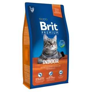 Brit Premium Cat Adult Indoor, 1,5 кг