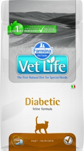 Farmina Vet Life Cat Diabetic 400 гр.