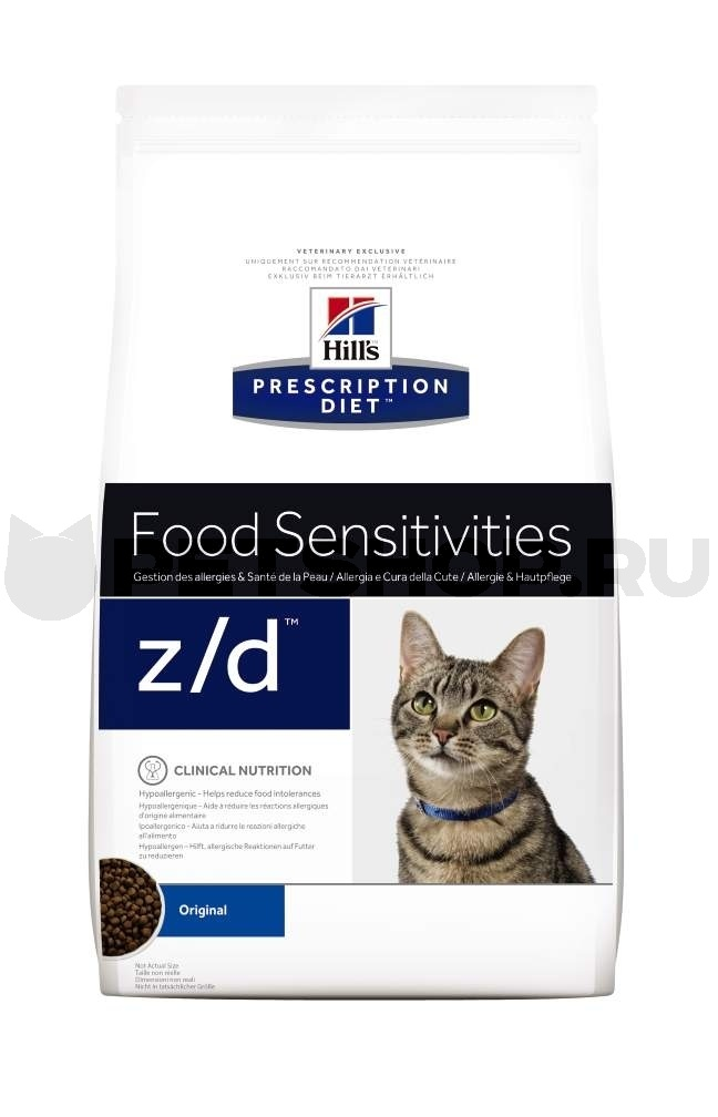 Hill's Prescription Diet z/d Food Sensitivities 2 кг 4565