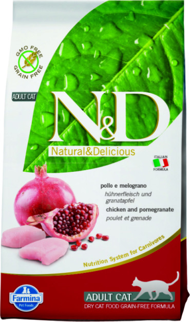 N&D Cat Chicken & Pomegranate Adult 1,5 кг.