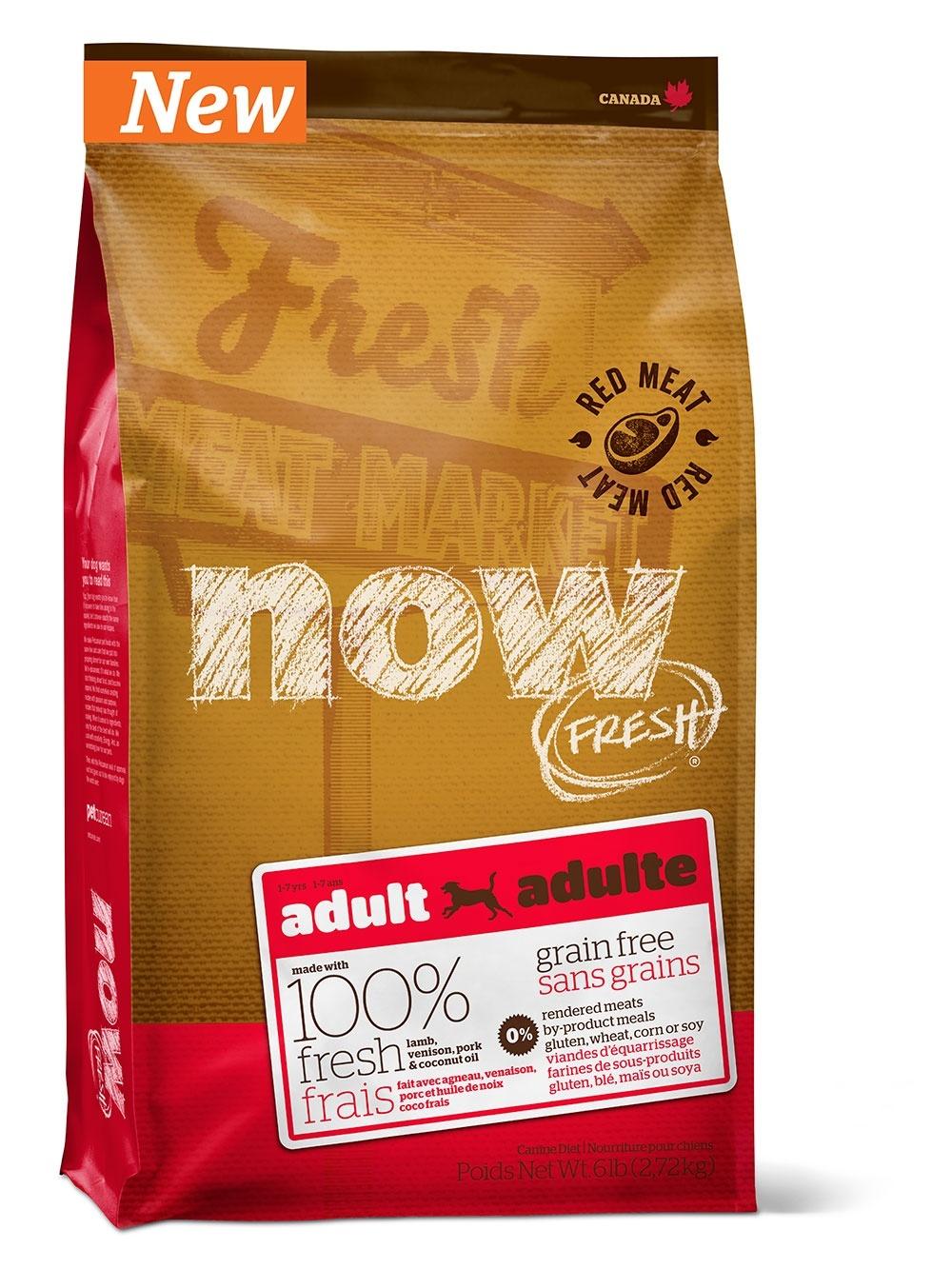 NOW FRESH для собак всех порд с мясом Ягненка 2,72 кг