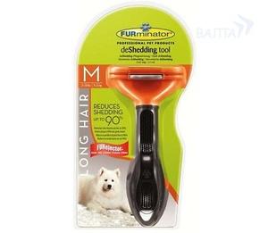 Фурминатор DOG M для средних собак длинная шерсть, 7 см (112464)