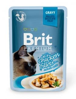 Brit Chiсken fillets in Gravy 85 гр