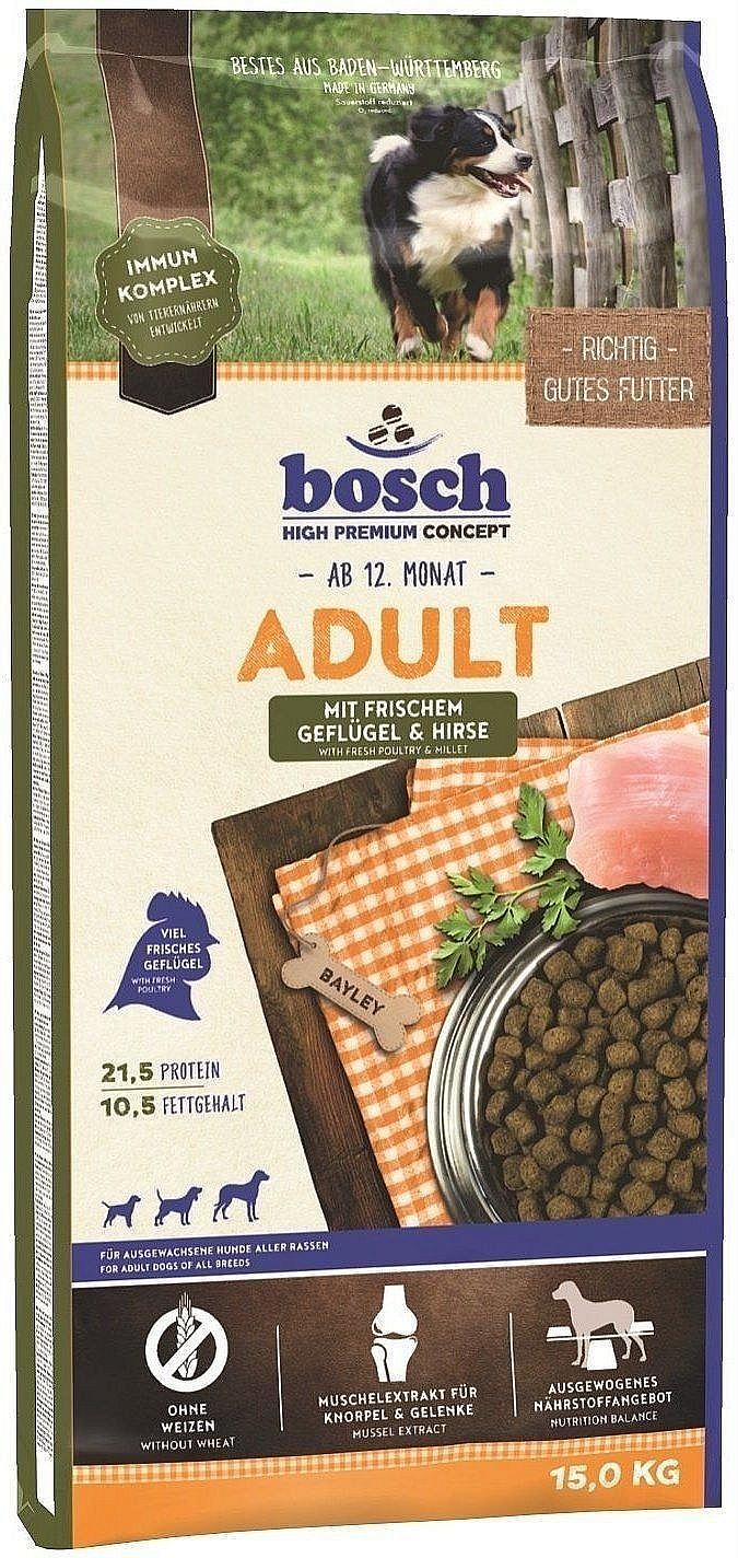 Bosch Adult с птицей и просом для взрослых собак 15 кг