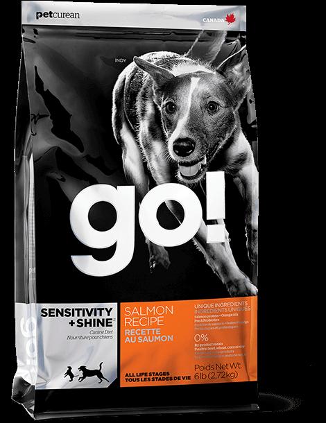 GO!SENSITIVITY + SHINE 11,35 кг (лосось+овсянка)