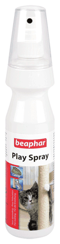 Спрей Beaphar Play Spray приучает к когтеточке 150мл