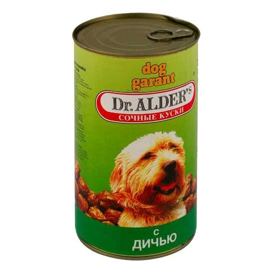 Dr. Alders Дог Гарант Сочные Кусочки в Соусе курица/индейка 1,2 кг