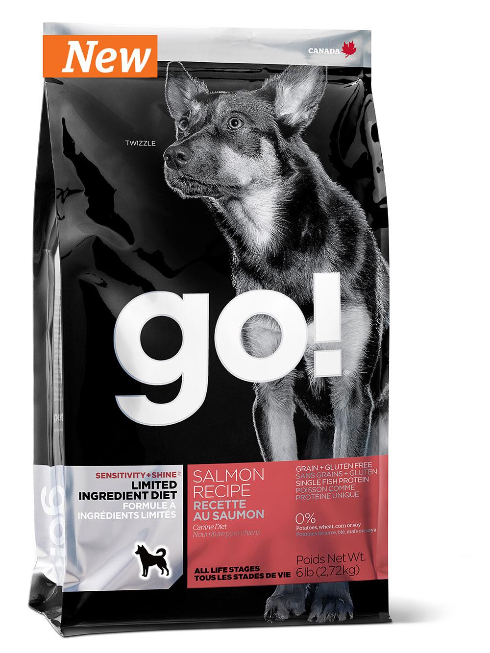 GO!SENSITIVITY + SHINE 11,35 кг (лосось)