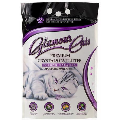 Наполнитель Glamour Cats Горная лаванда 3,8л