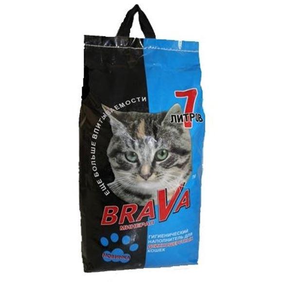 Наполнитель Brava Для Длинношёрстных кошек 7л