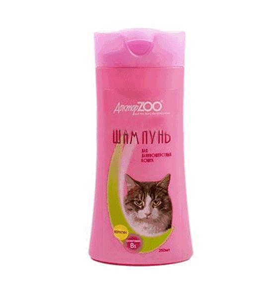 Шампунь Доктор Zoo для длинношерстных кошек 250 мл