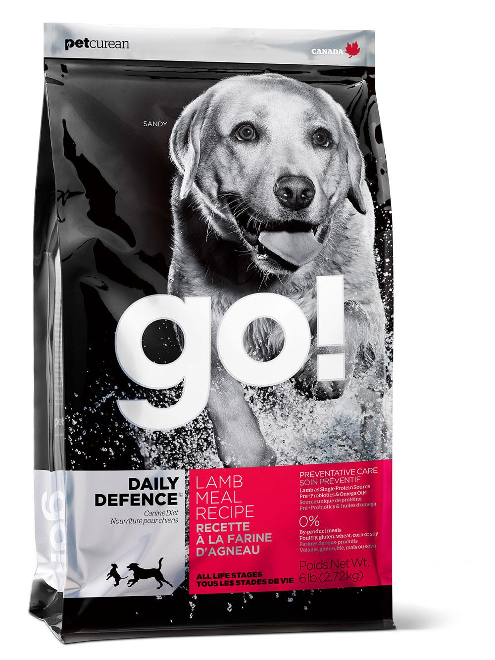 GO!DAILY DEFENCE 11,35 кг (ягнёнок)