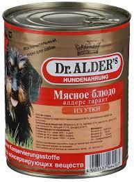 Dr. Alders Гарант Мясное Блюдо Утка 400 гр
