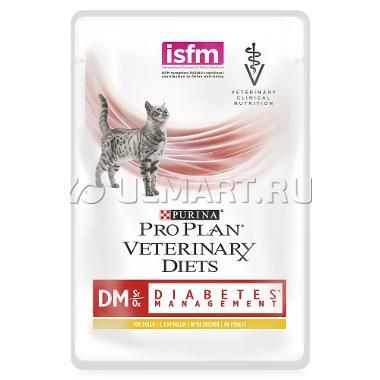 Pro Plan DM Diabetes Management for Cat 85гр ПАУЧ
